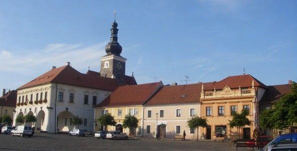 Hôtel de ville de Velvary - ville de 3008 habitants