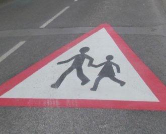 «Attention école, traversées d'enfants»