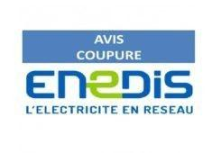 Coupure courant ENEDIS