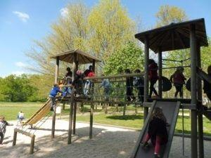 Pique-nique au Parc des Rochettes à Montaigu