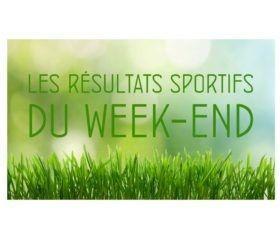 Résultats sportifs du week-end