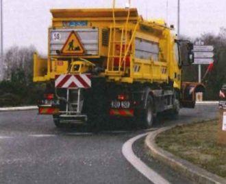 Dispositif viabilité hivernale sur les routes départementales