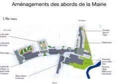aménagements abords mairie