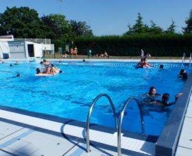 Ouverture de la piscine de Montbert «l'Aqua 9»