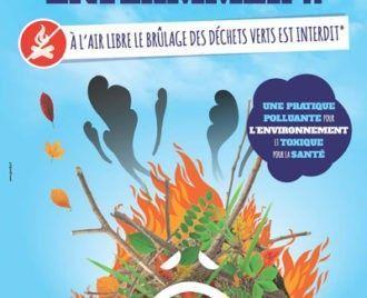 Brûlage à l'air libre des déchets verts