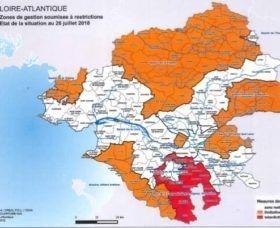 Interdiction de prélèvement sur les cours d'eau