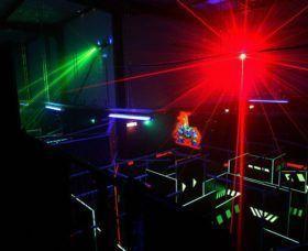 Activité Laser Game proposée par l'Office Intercommunal des Sports