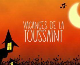 Information concernant l'accueil de loisirs des vacances de la Toussaint