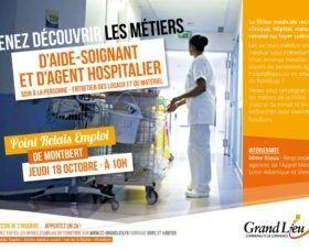 Découverte des métiers d'aide-soignant et agent hospitalier