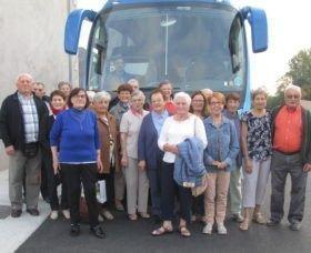 Départ du voyage seniors ANCV
